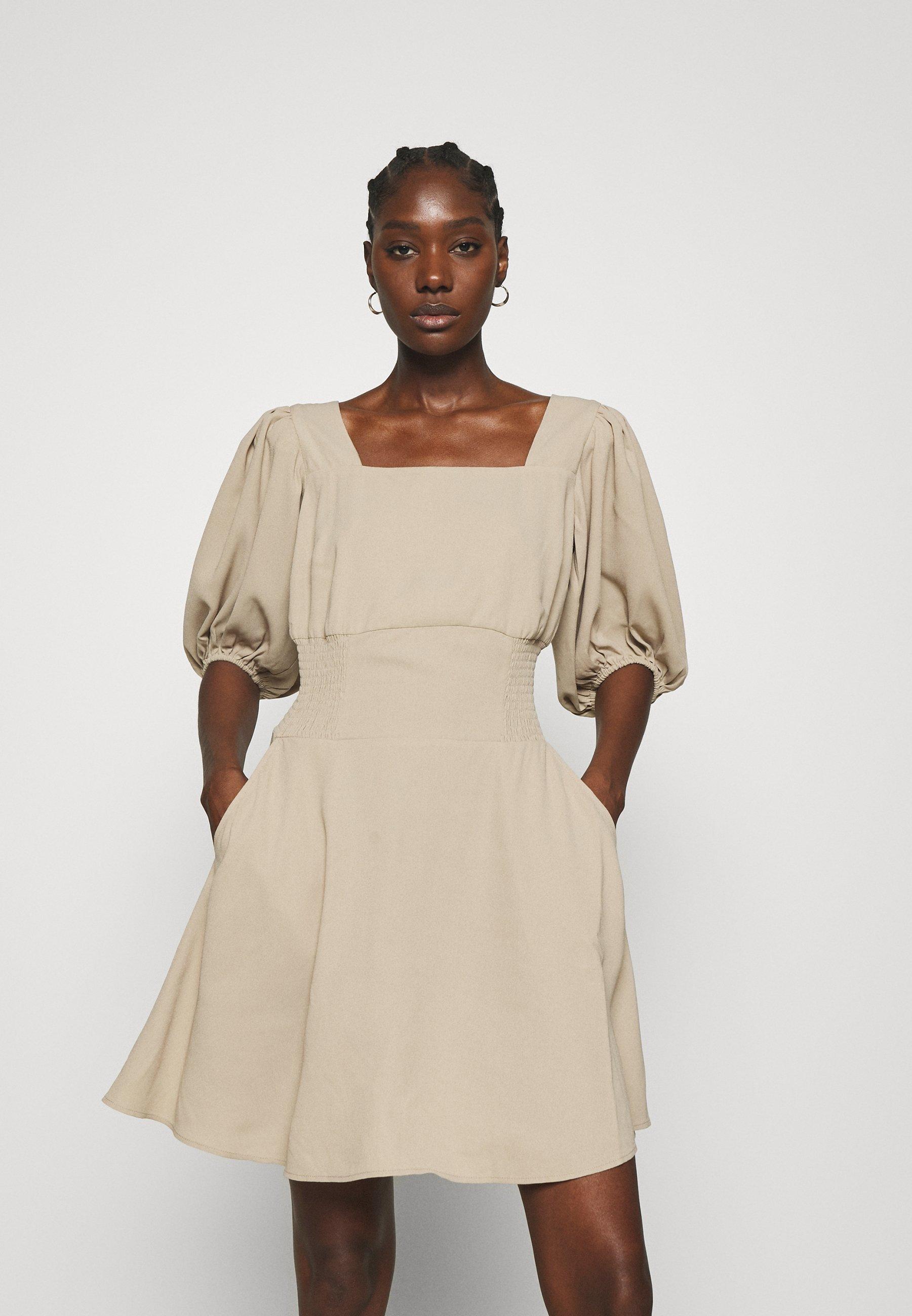 Women TIANNA RECYCLED SHORT DRESS - Day dress