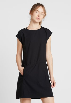 DAWN DRESS - Sports dress - true black