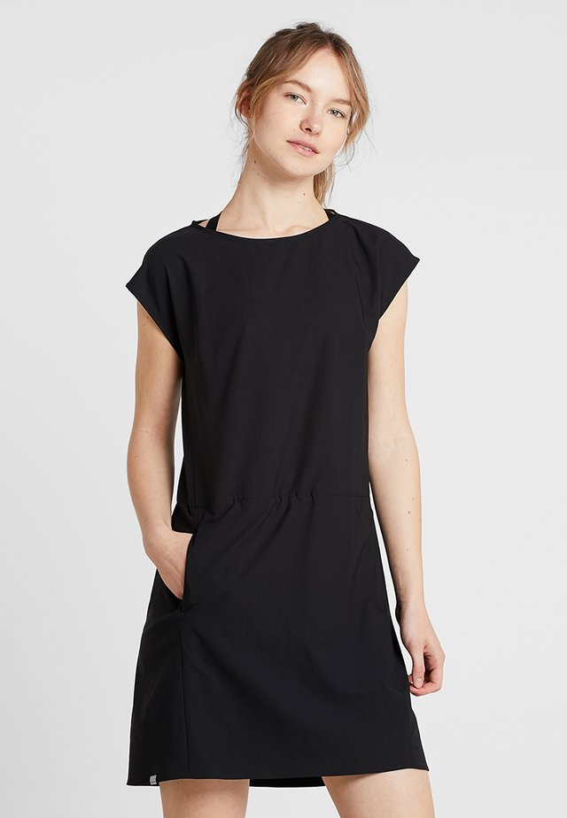 DAWN DRESS - Jurken - true black