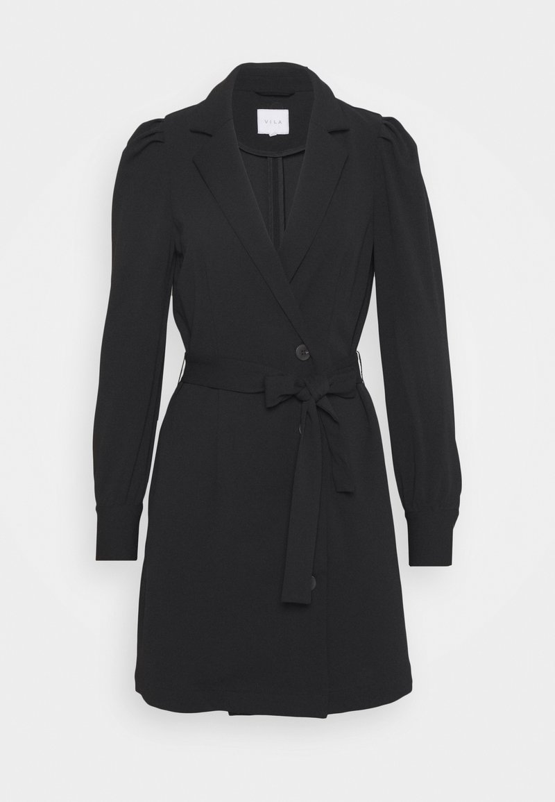 Vila - VIMARY BLAZER DRESS - Cocktail dress / Party dress - black