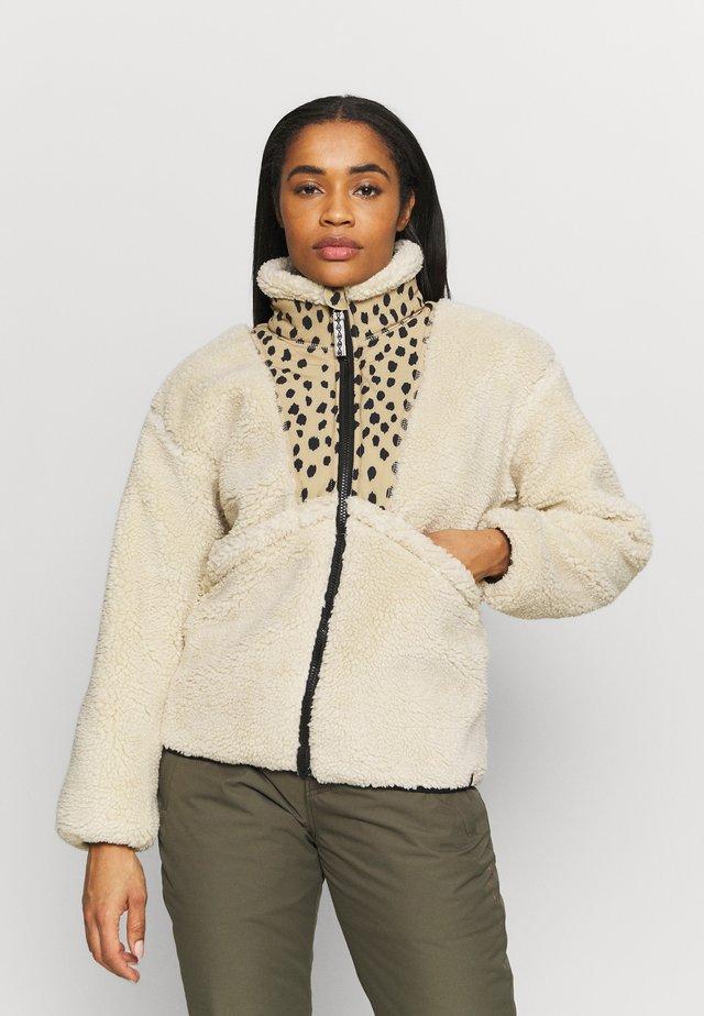 PUA WOMEN - Fleece jacket - almond