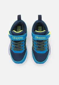 Kappa - UNISEX - Sports shoes - navy/lime - 3