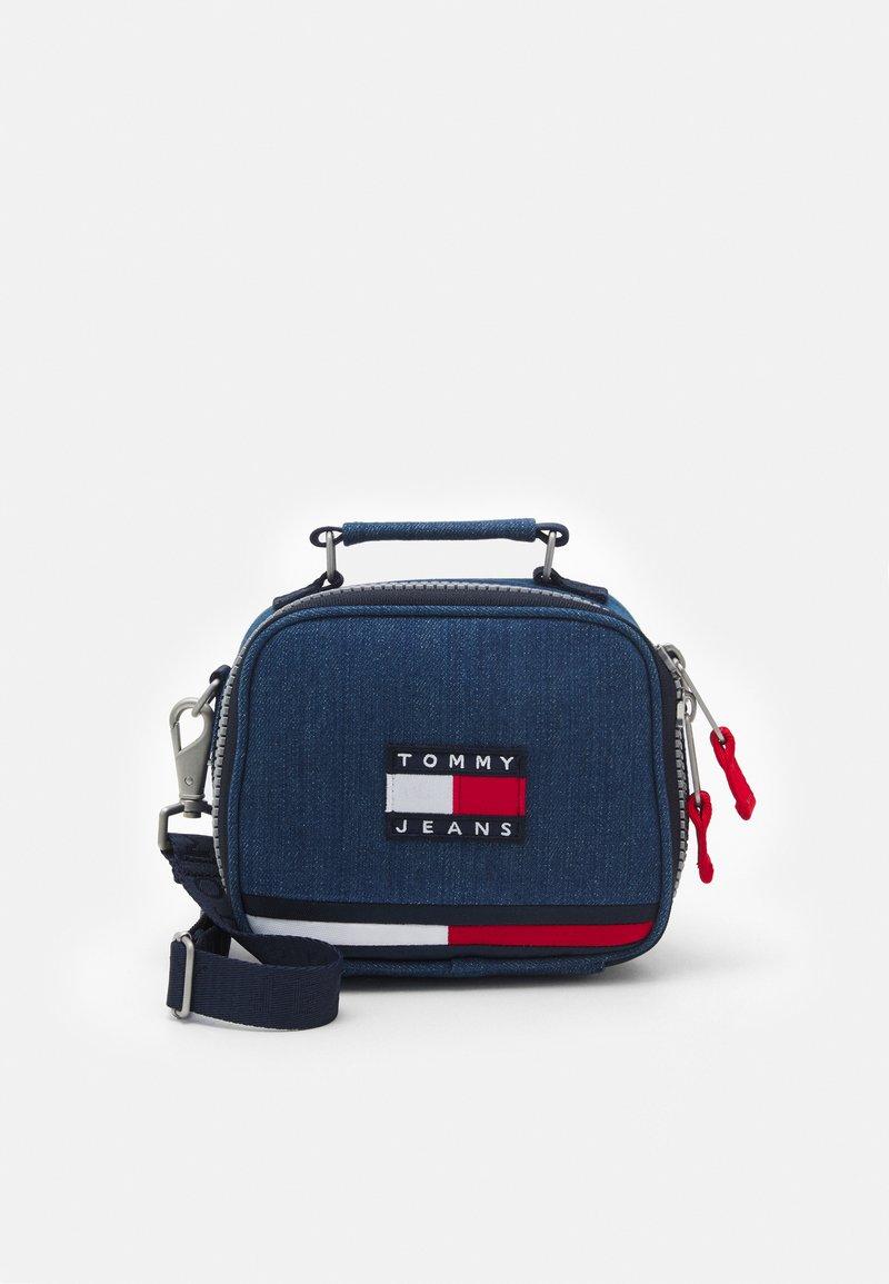 Tommy Jeans - HERITAGE CROSSOVER - Taška spříčným popruhem - blue