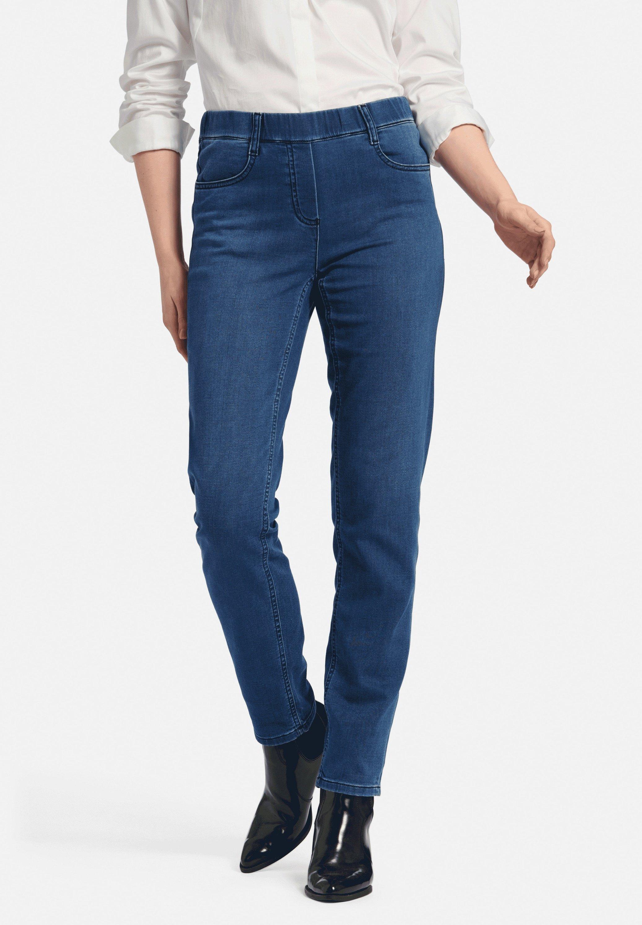 Damer SYLVIA - Jeans Slim Fit