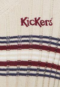 Kickers Classics - WIDE CROPPED V NECK  - Jumper - beige - 2