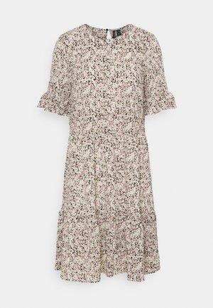 VMHOLLO ONECK SHORT DRESS - Denní šaty - black