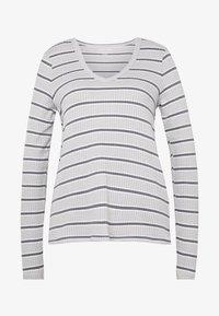 STRIPES - Langærmede T-shirts - gray