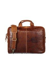 State of Art - Laptop bag - cognac plain - 1