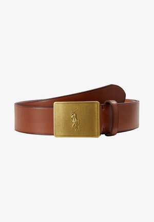 PLAQUE BELT - Riem - tan