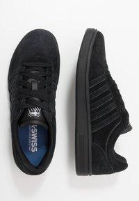 K-SWISS - COURT CHESWICK - Trainers - black/charcoal - 1