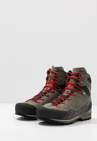 Mammut - KENTO GUIDE HIGH  - Mountain shoes - tin/spicy - 2