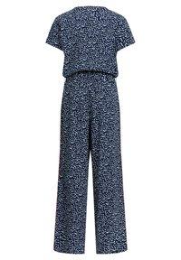 WE Fashion - MET STIPPENDESSIN - Jumpsuit - dark blue - 3