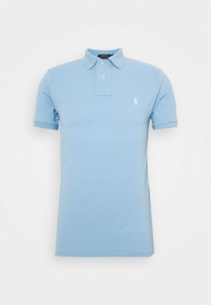 SLIM FIT - Polo - powder blue