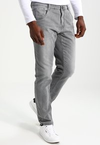 Cars Jeans - PRINCE - Straight leg jeans - grey used - 0