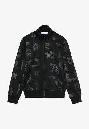 ALL OVER PRINT TRACK JACKET - Training jacket - black