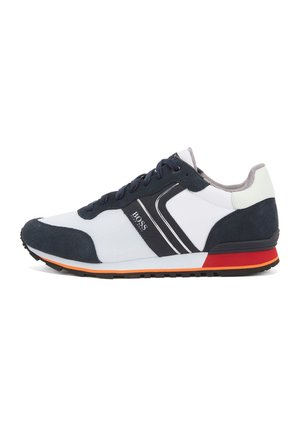 Trainers - open white
