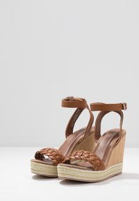 Anna Field - High heeled sandals - cognac - 4