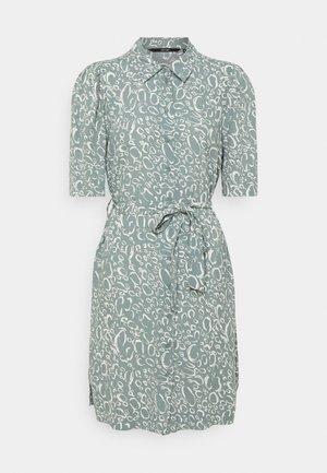 VMLIVA SHORT SHIRT DRESS - Day dress - laurel wreath/liva