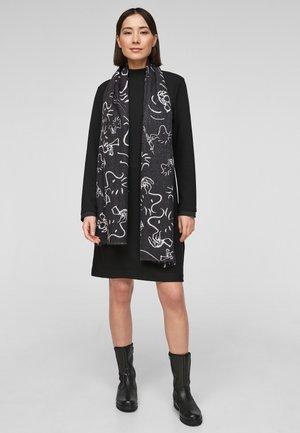 MIT PEANUTS PRINT - Sjaal - black placed print