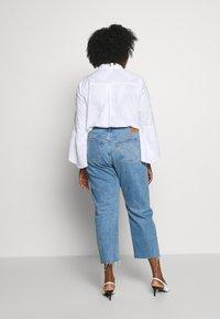 Levi's® Plus - 501® CROP - Straight leg -farkut - blue denim - 2