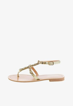 REZZANO - Sandaler m/ tåsplit - Golden