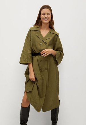 OSO-A - Shirt dress - khaki