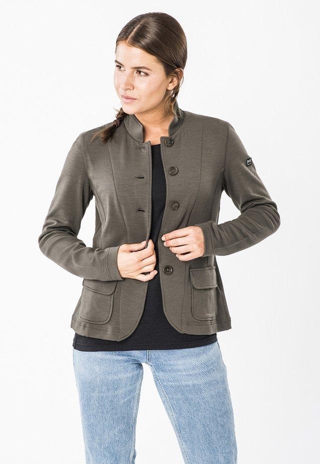 MERINO BLAZER W WENGER RAISED - Outdoor jacket - brown