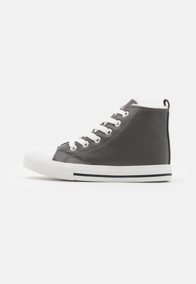CLASSIC TRAINER LACE UP - Sneakers alte - grey