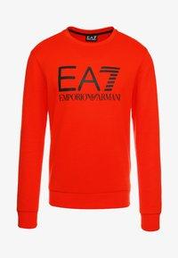 EA7 Emporio Armani - Sweatshirt - neon / orange / black - 4