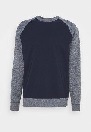DRY PLAYER CREW - Sweatshirt - obsidian/white//obsidian