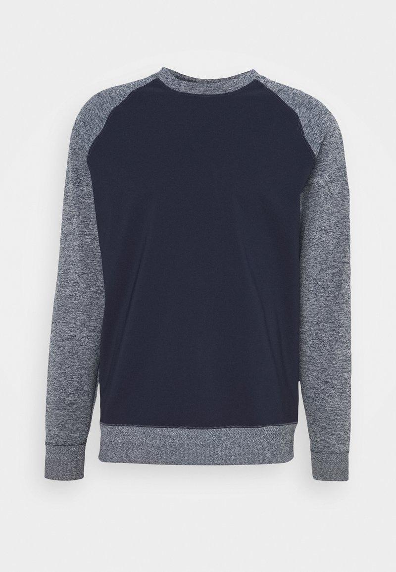 Nike Golf - DRY PLAYER CREW - Sweatshirt - obsidian/white//obsidian