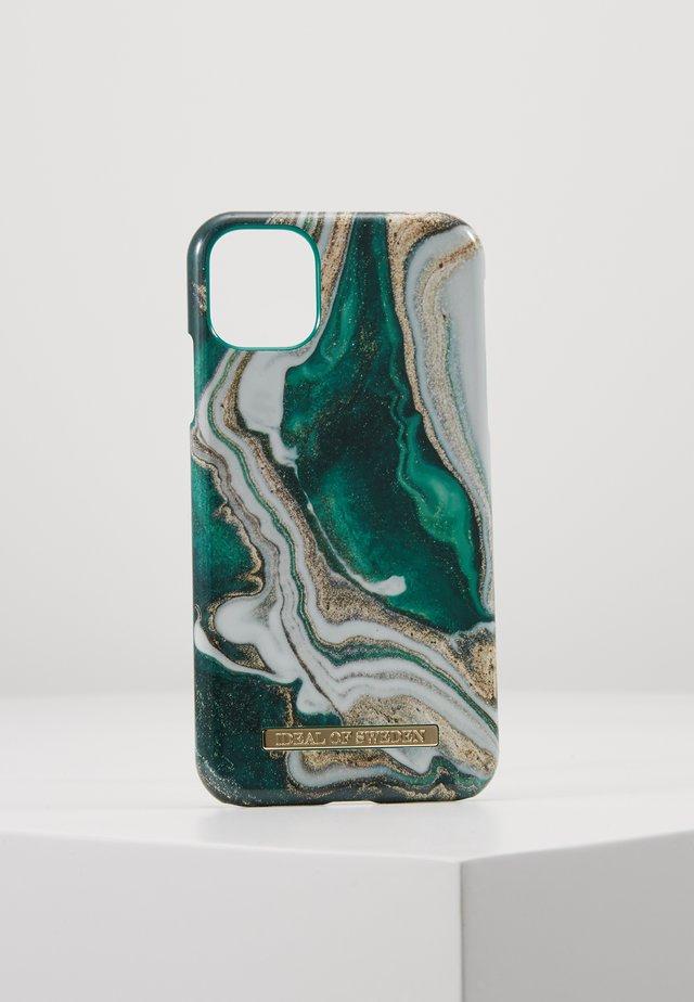 FASHION CASE IPHONE 11 - Funda para móvil - gold-coloured/jade