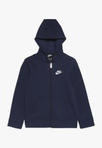 Nike Sportswear - CLUB HOODIE - veste en sweat zippée - midnight navy - 0