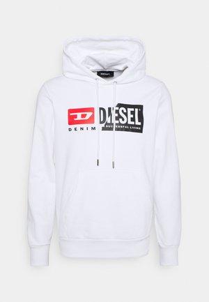Diesel HOOD DIVISION LOGO - Bluza z kapturem - pink/rÓżowy Odzież Męska RBEM
