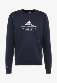 adidas Performance - CREW - Sweatshirt - dark blue - 3