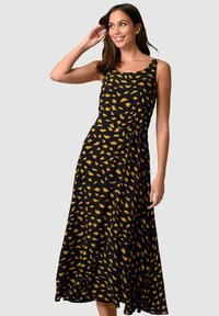 Alba Moda - Maxi dress - schwarz gelb - 0