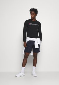 Champion - ROCHESTER CREWNECK LONG SLEEVE - Long sleeved top - black - 1