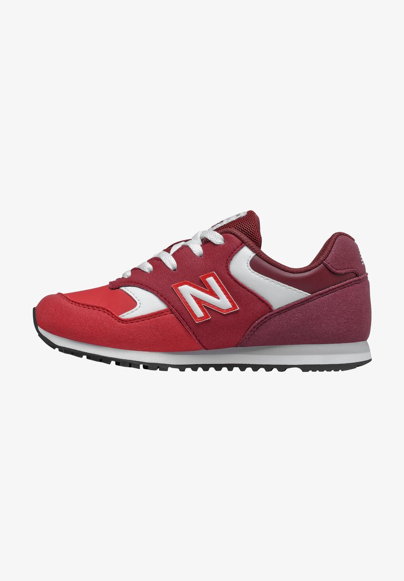 New Balance - YC393TBL-M UNISEX - Trainers - classic burgundy/nb scarlet