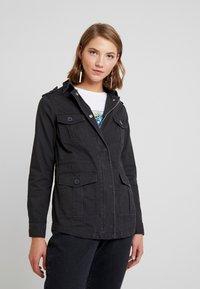 New Look - POCKET UTILITY SHACKET - Summer jacket - black - 0