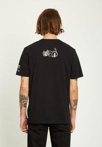 Volcom - ZUBIZARRETA  - Camiseta estampada - black - 1
