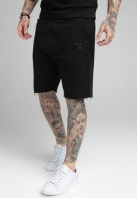 SIKSILK - RELAXED CREW  - Shorts - black - 0