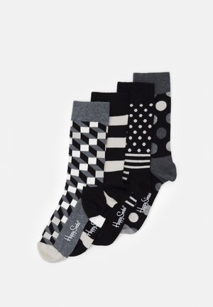 CLASSIC GIFT SET 4 PACK - Socks - black/white