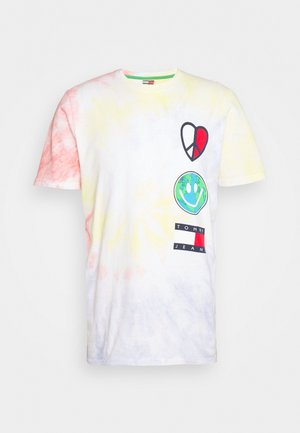 US LUV THE WORLD TEE - Print T-shirt - multi-coloured