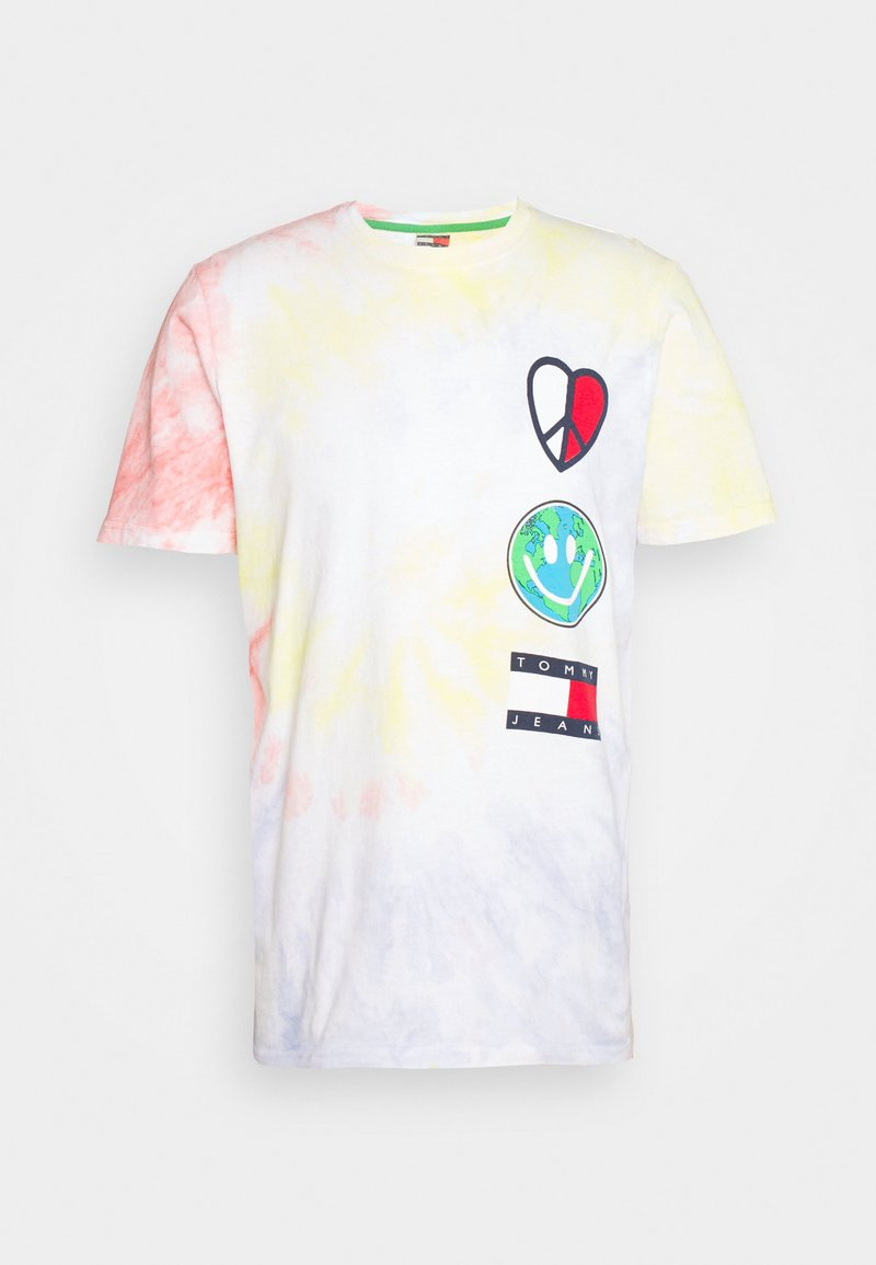 Tommy Jeans - US LUV THE WORLD TEE - T-shirt imprimé - multi-coloured