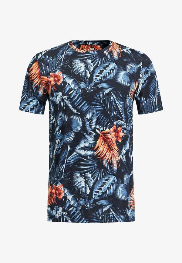 WE Fashion T-shirt z nadrukiem - all-over print/wielokolorowy Odzież Męska ZUSB