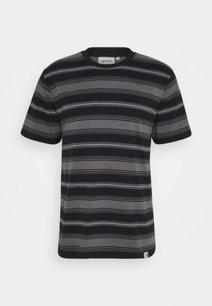 BUREN  - Print T-shirt - black