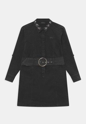 JUNIOR STRETCH  - Denim dress - black luxury denim