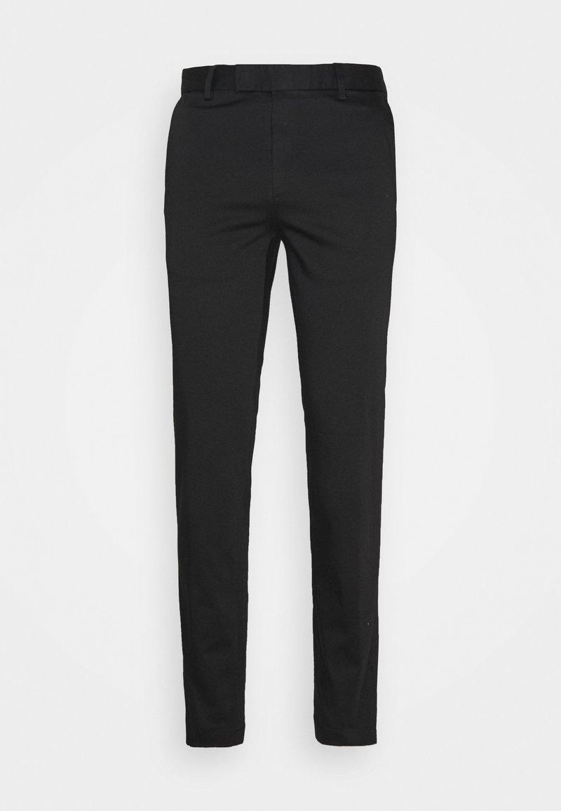 Sand Copenhagen - TOUCH CRAIG NORMAL - Pantalon classique - black