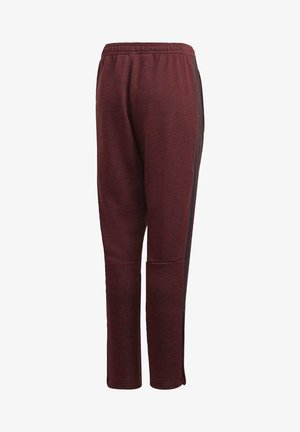 TIRO 19 FRENCH TERRY TRACKSUIT BOTTOMS - Tracksuit bottoms - burgundy