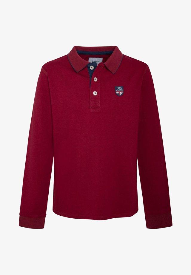 PHILLIP - Poloshirt - garnet